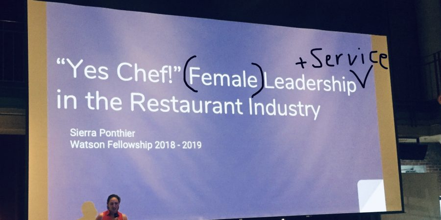 The Chef as a Servant Leader
